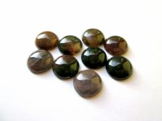 Indian agate cabochon - 16 mm