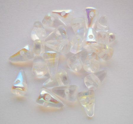 Cseh tüske - 8*5 mm - kristály AB