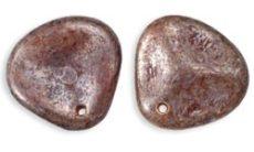 Cseh rózsaszirom - 14*13 mm - lüszteres stone mauve