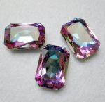4627 Swarovski kristály octagon - 27x18,5 mm - vitrail light - sf