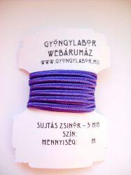 Soutache braid - 3 mm - glossy -  violet  (#35)