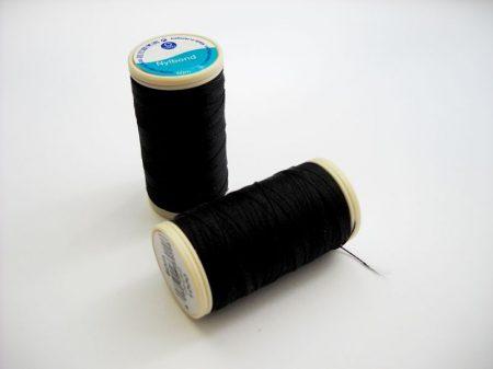 Nylbond gyöngyhímző cérna - fekete (#1000) - 60 m