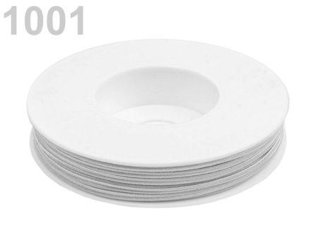 Sujtás zsinór - 3 mm -  galambszürke (#1001)