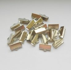 End caps - 13x6 mm - 4 pairs