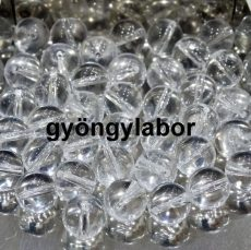 Hegyikristály ásványgolyó - 6 mm