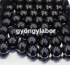 Onyx achát ásványgolyó - 6 mm