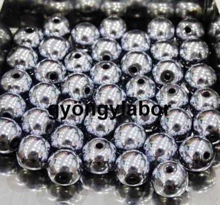 Hematit ásványgolyó - 6 mm