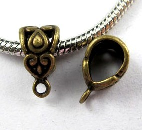 Bail - 12*7 mm - antiques silver
