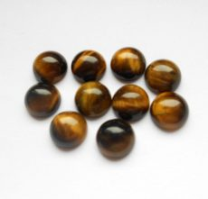 Tiger's Eye cabochon - 12 mm