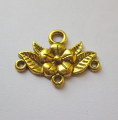 Antik arany nyaklánc alap -  31x23 mm
