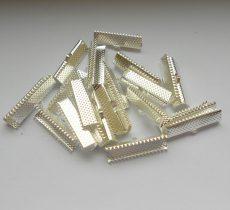 Szalagvégzáró - 25x6 mm - 4 db - platina