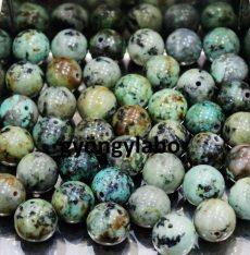 Afrikai türkiz ásványgolyó - 6 mm
