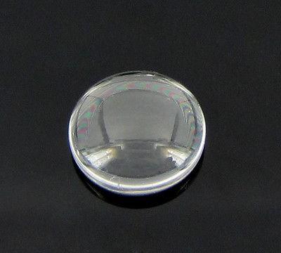 Glass cabochon - 15 mm