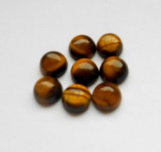 Tiger's Eye cabochon - 10 mm