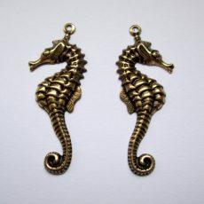 Sea horse matching pair - 34*16 mm