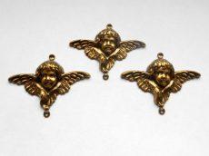 Angel - brass stamping - 60*44 mm