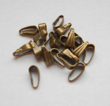 Medálvezető - 7*3 mm - bronz (5db/csomag)