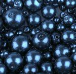 Cseh üveg tekla gyöngy - 4 mm - 50 db/cs - rózsaszín