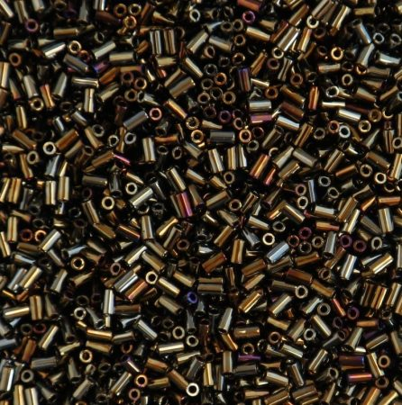 Toho 3 mm szalma - Metallic Brown Iris - #83 - 10 gr