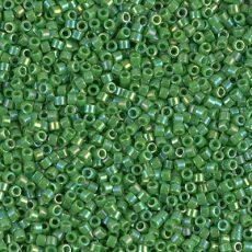 Delica 11/0 -  DB0163 - Opaque Green AB - 5 gr