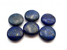 Lapis lazuli lencse - 18 mm