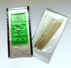 Pony beading needles - size 10