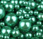 Cseh üveg tekla gyöngy - 6 mm - 25 db/cs - kelly