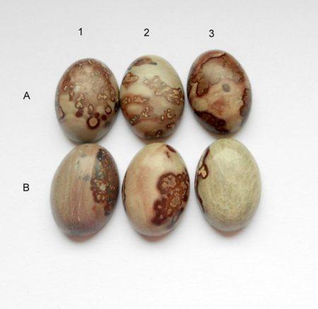 Chohua jáspis kaboson 18x13 mm