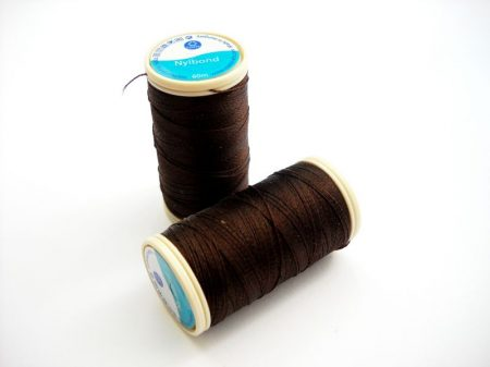 Nylbond beading thread - dark haselnut (#9052) - 60 m