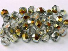 Czech fire polished beads - 4 mm