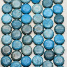 Szivárvány kalszilika korong - 16 mm
