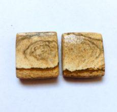 Owyhee jáspis kaboson - 17x16 - összeillő pár