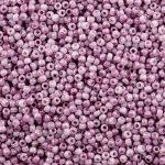 Toho 11/0 - #1200 -  Márványos Opál fehér/rózsaszín  - 10 gr
