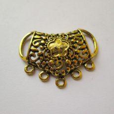 Antik arany nyaklánc alap -  39*36 mm