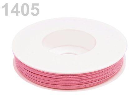 Sujtás zsinór - 3 mm - fáradt rózsaszín  (#1405)