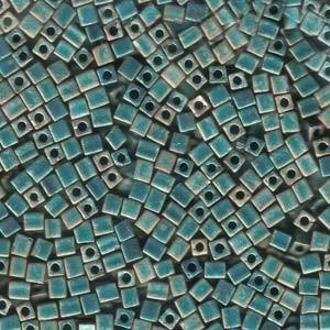Miyuki 1,8 mm kocka - #2008 - Matte Metallic Patina Iris