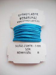 Soutache braid - 3 mm - glossy - teal  (#33)