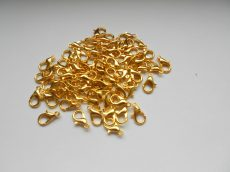 Dolphin clasp - 12*7 mm - golden