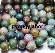 Indiai achát ásványgolyó - 6 mm