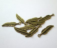 Toll medál - 30x8 mm - antik bronz