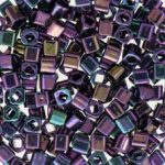 Toho 3 mm kocka - #85- Metallic Iris Purple - 10 gr