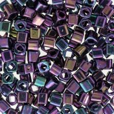 Toho 3 mm kocka - #85- Metallic Iris Purple - 10 gr