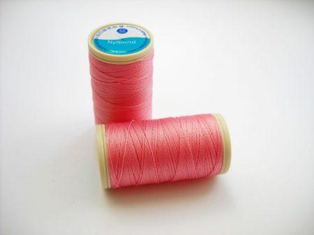 Nylbond gyöngyhímző cérna - rózsaszín (# 2637) - 60 m