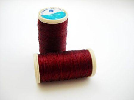 Nylbond gyöngyhímző cérna - burgundy (#8546) - 60 m