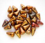Cseh tüske - 8*5 mm - silky gold iris
