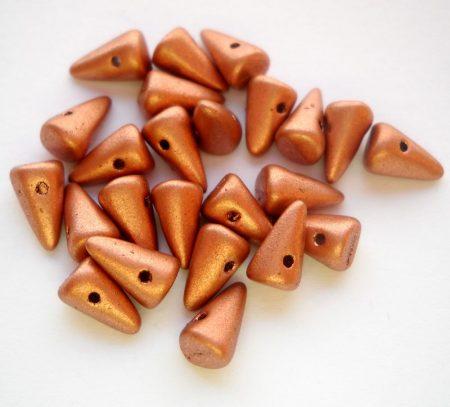 Cseh tüske - 8*5 mm - matt copper