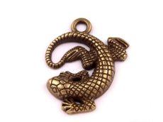 Lizard - copper - 25 mm