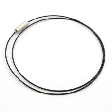 Sodrony nyakláncalap - 46 cm - fekete