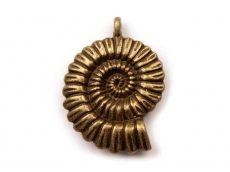 Ammonit  - réz - 30*25  mm
