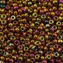 Toho 8/0 - #177F - Smokey Topaz Rainbow Transparent Matte - 10 gr